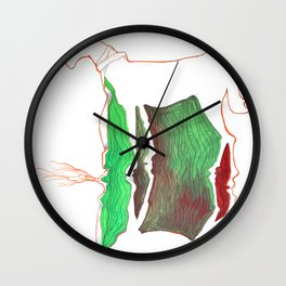 Double Pony Wall Clock