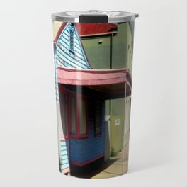 Colourful abandoned shop in rural Town ~ Australia Travel Mug