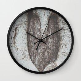 tree heart Wall Clock