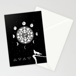 The Wolf Stationery Cards