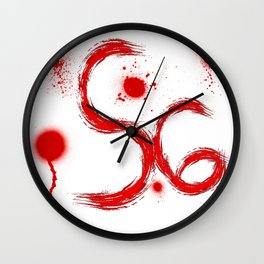 S6 Tee - Scratches Wall Clock
