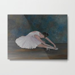 The Ballerina Metal Print