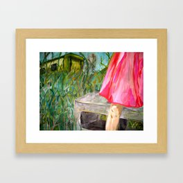greenview trailer park Framed Art Print