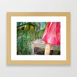 greenview trailer park Framed Art Print