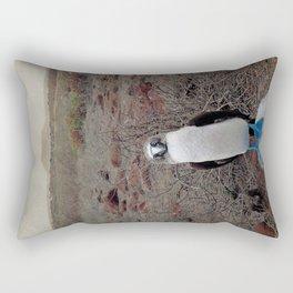 blue is cool Rectangular Pillow
