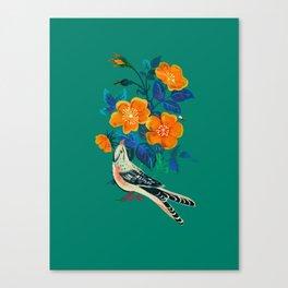 Autumnal Rose Canvas Print