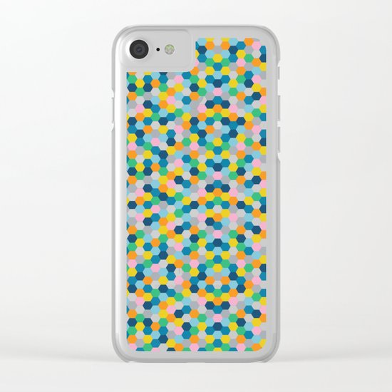 Honey Clear iPhone Case
