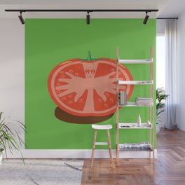 Tomato Guy Wall Mural