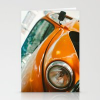 volkswagon Stationery Cards featuring Buggin' out by dnlamria
