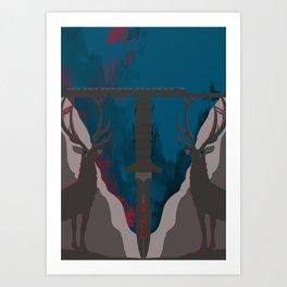 Skyfall Movie Poster Art Print