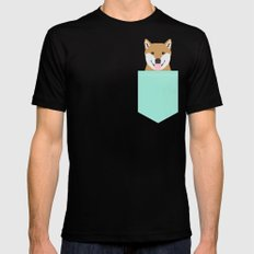Cassidy - Shiba Inu gifts for dog lovers and cute Shiba Inu phone case for Shiba Inu owner gifts MEDIUM Mens Fitted Tee Black