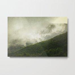 Morning Haze Metal Print