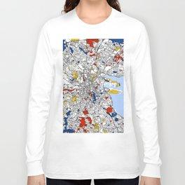 Dublin mondrian Long Sleeve T-shirt