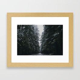 Where the Pine's Extend, Pt. 2 Framed Art Print