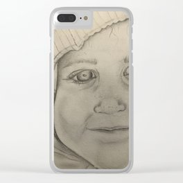 Untitled #1 by Jessa Crisp Clear iPhone Case