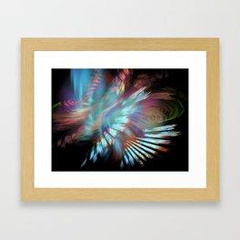 Woosh Framed Art Print