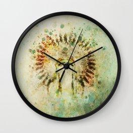 BOHO Headdress Wall Clock