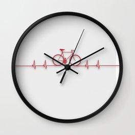 Bike Beat Wall Clock