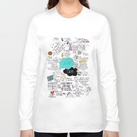 shipping Long Sleeve T-shirts featuring The Fault in Our Stars- John Green by Natasha Ramon