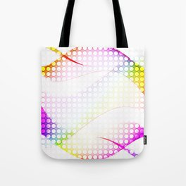 abstract colorful tamplate Tote Bag