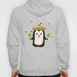 Penguin Mexico Fiesta T-Shirt for all Ages Dz87f Hoody