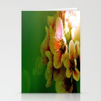 flora Stationery Cards featuring Flora by Jake Stanton