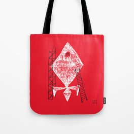A Machine Designed To Fly In Outer Space Tote Bag