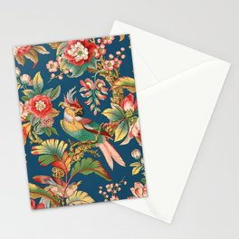 Antique French Chinoiserie in Blue Stationery Cards