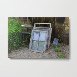 Broken Pieces of Yesterday- horizontal Metal Print