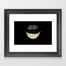 Mad Vegans Framed Art Print
