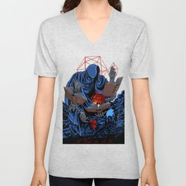 Dungeons, Dice and Dragons - The Dungeon Master Unisex V-Neck