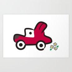 FUN DRIVE Art Print