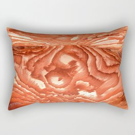 Colorful sandstone in Petra, Jordan (Picture 2) Rectangular Pillow