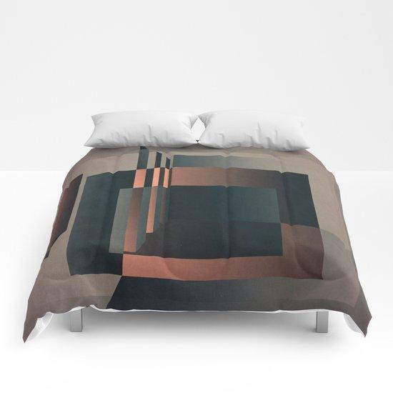 Geometric Room Comforters