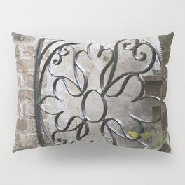 Charleston Back Garden Gate Pillow Sham