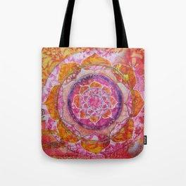 Creative Glow Mandala Tote Bag