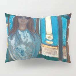 The Voice, Summer Night by Edvard Munch Pillow Sham