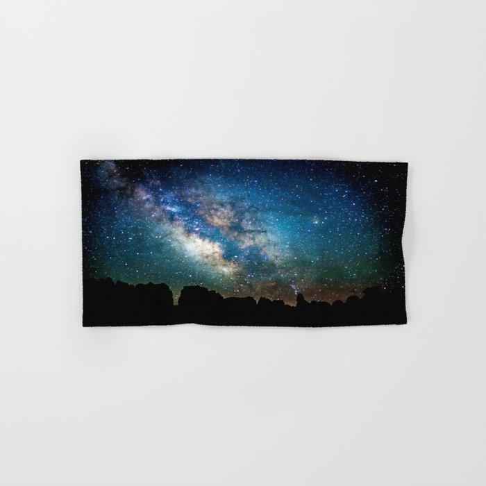 The Milky Way Mountains Hand & Bath Towel