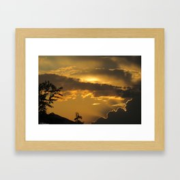Beautiful memories Framed Art Print