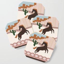 Wild Desert Horse Coaster