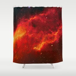 Emission Nebula Shower Curtain