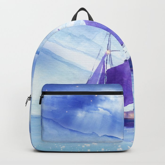 Sailing in Winter Backpack