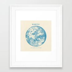 Third Planet  Framed Art Print