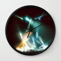 the xx Wall Clocks featuring XX by Tanya Bhargava