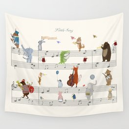 little song Wall Tapestry