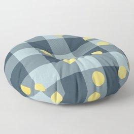 blue jeans & mimosa || pattern Floor Pillow