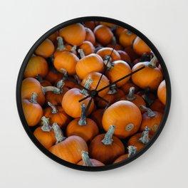 Pumpkins 1 Wall Clock