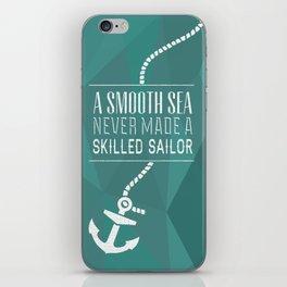 Skilled Sailor iPhone Skin