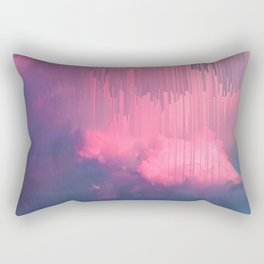 Sweet Stormy Glitches Rectangular Pillow