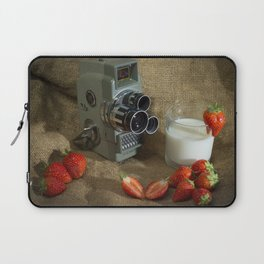 Sekonic and Strawberries Laptop Sleeve